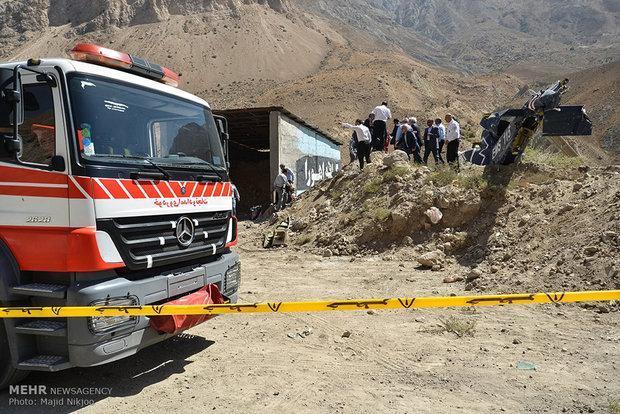 گزارشات مردمی از انفجار و برخورد یک شی با شاهکوه در فلاورجان