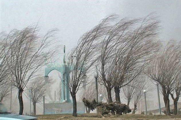 پیش بینی وزش باد شدید در تهران