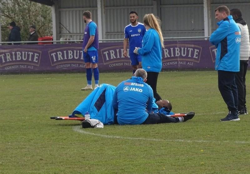 انتظار 3 ساعته فوتبالیست انگلیسی در زمین فوتبال برای رسیدن آمبولانس!