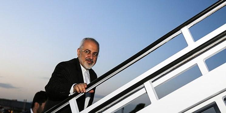 ظریف چابهار را به مقصد اسلام آباد ترک کرد