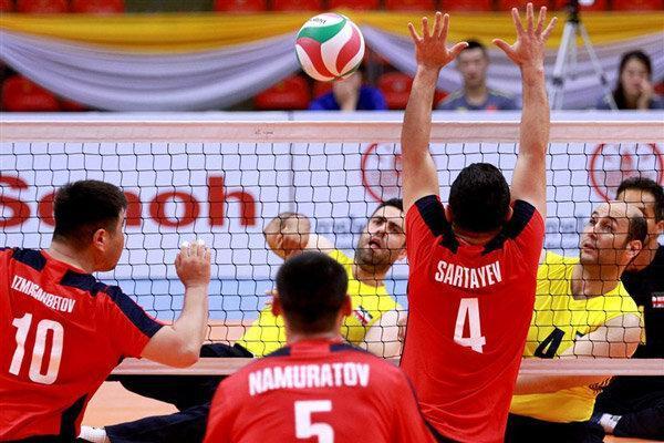 پیروزی تیم ملی والیبال نشسته ایران برابر ژاپن