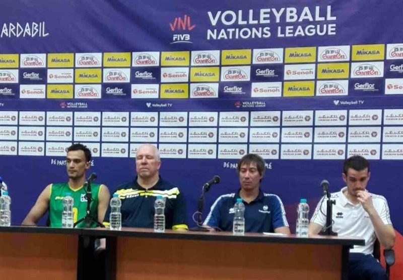 لیگ ملت های والیبال- اردبیل، سرمربی تیم ملی والیبال استرالیا: بازی های بعدی ما چالشی است