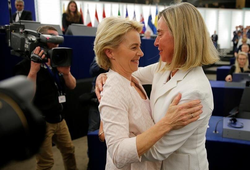 بانوی آلمانی رییس کمیسیون اتحادیه اروپا شد
