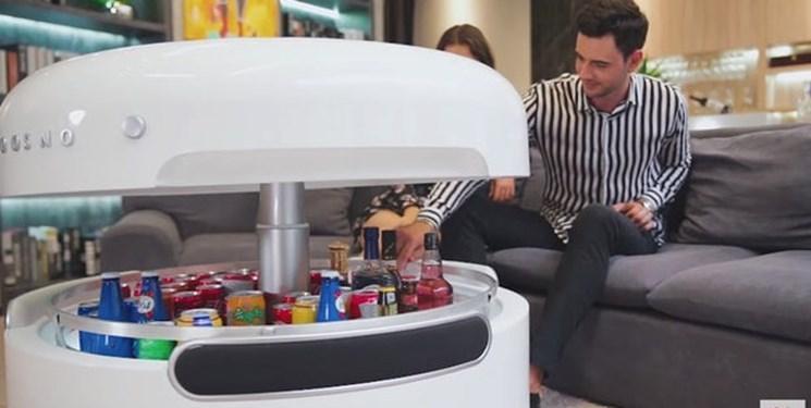 اختراع میز هوشمند یخچالی برای کافی شاپ ها