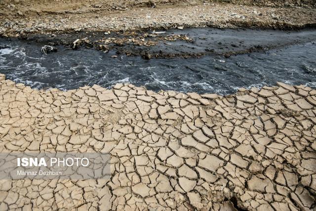 تأثیر خشکسالی ها در شور شدن آب کارون