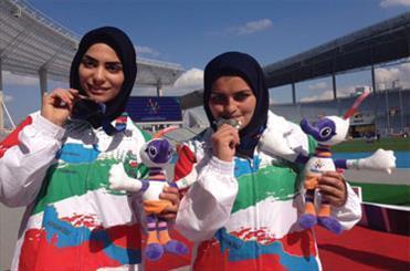 نمایندگان ایران در پرتاب وزنه نقره و برنز گرفتند
