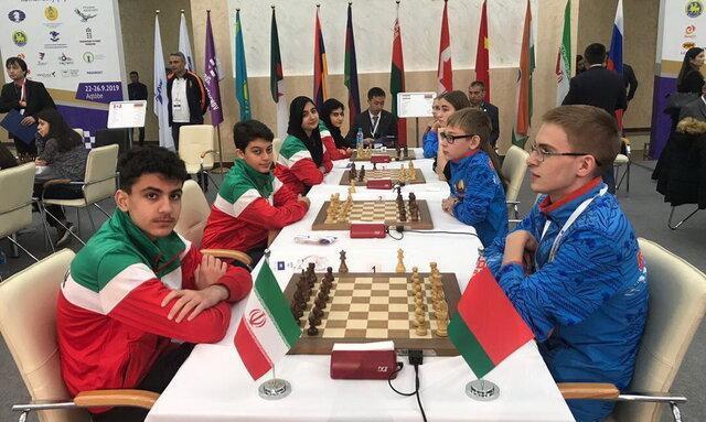 دومی نمایندگان ایران در مسابقات شطرنج سریع زیر 17 ساله های جهان