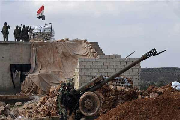 ورود ارتش سوریه به شهرک تل تمر در شهر رأس العین