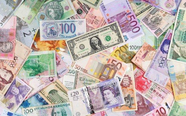 افزایش نرخ مبادله ای دلار، کاهش قیمت رسمی یورو و پوند