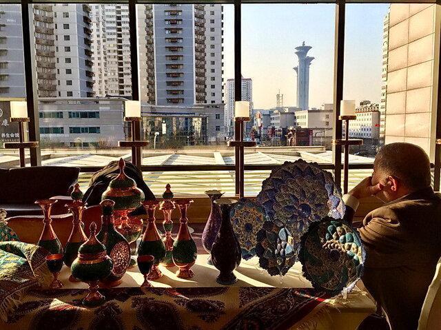 برخورد دکوری با هنر ایران در چین