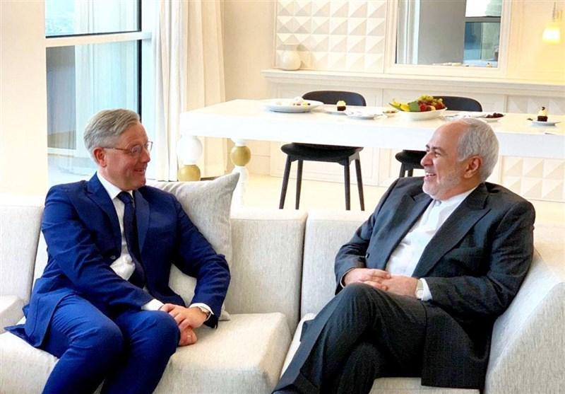 دیدار رئیس کمیته سیاست خارجی مجلس آلمان با ظریف