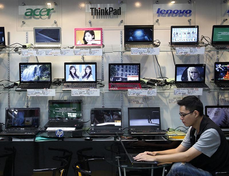 لپ تاپ خارجی در چین ممنوع شد