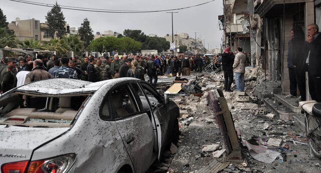 19 کشته در اثر انفجار خودروی بمب گذاری شده در تل ابیض سوریه