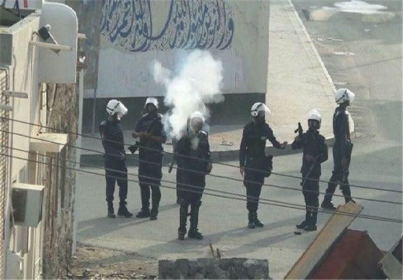 بحرینی ها مقابل مقر نخست وزیر انگلیس تحصن کردند