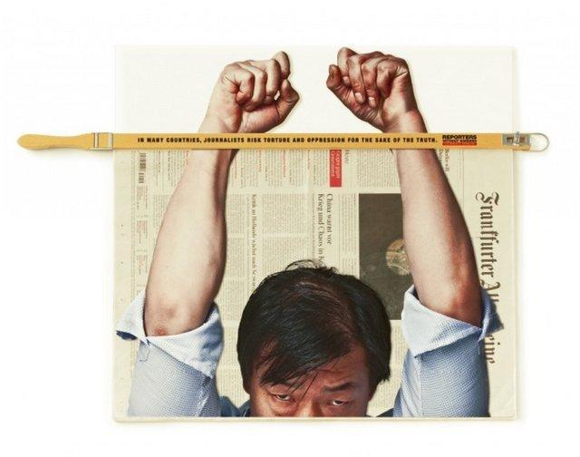 تهدیدهای آزادی بیان از منظر خبرنگاران بدون مرز