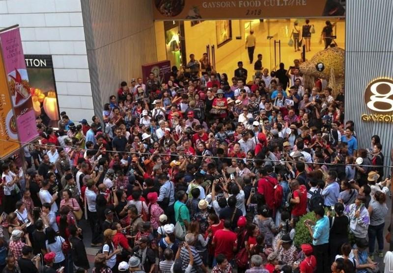 تجمع صدها نفر از تایلندی ها در سالروز سرکوب خونین ارتش