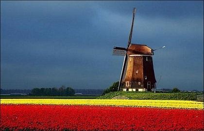 روحیات مردم هلند، سرزمین گل ها و آسیاب های بادی