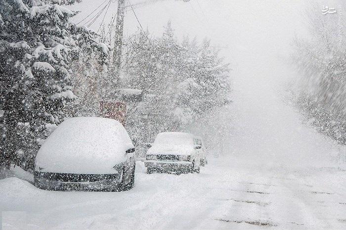 امدادرسانی به 1000 نفر در استان های درگیر برف و کولاک