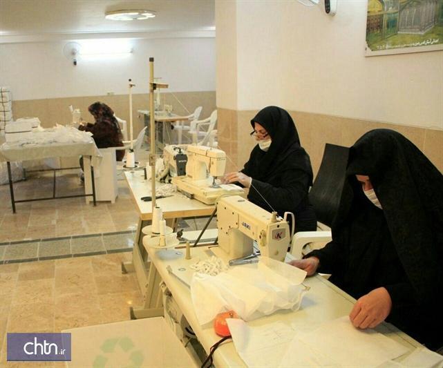 مشارکت فعالان صنایع دستی و گردشگری کلیبر و کشکسرادر مقابله با کرونا