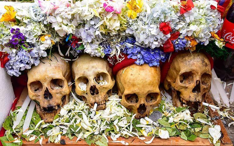 این جشن فقط به مناسبت جمجمه مردگان برگزار می گردد!