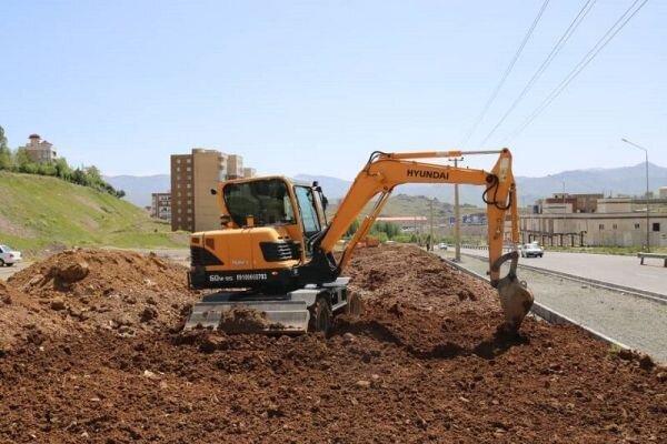 ساخت پارک 18 هزار مترمربعی در بلوار شهدای انتظام سنندج