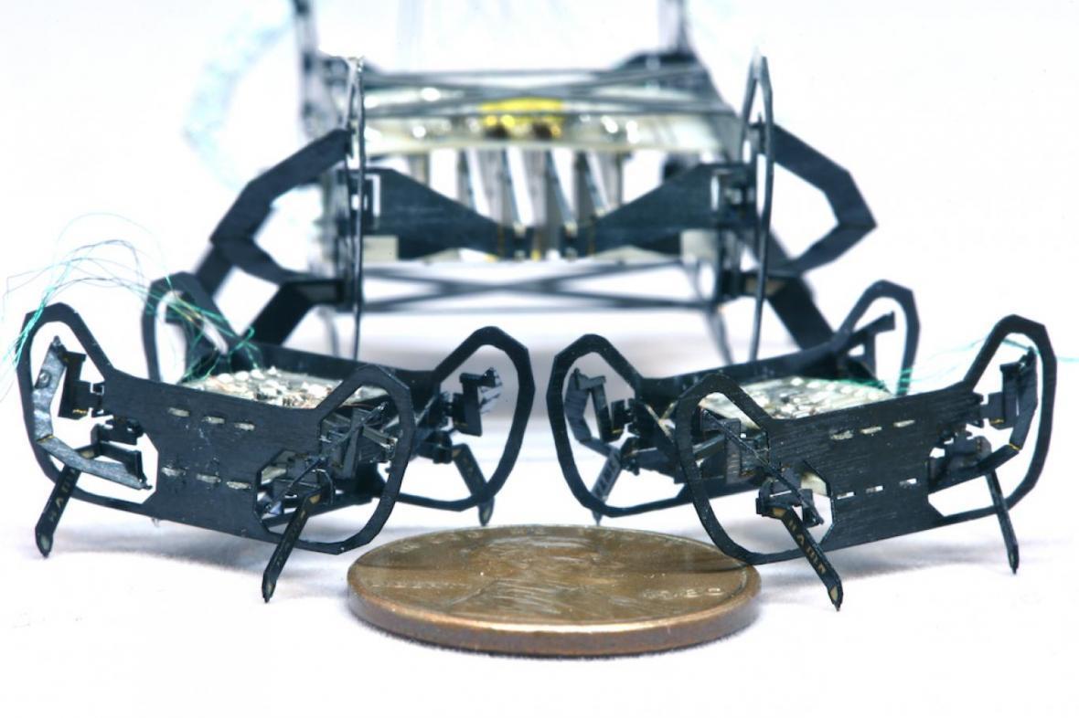 ساخت کوچکترین و سریع ترین ربات جهان