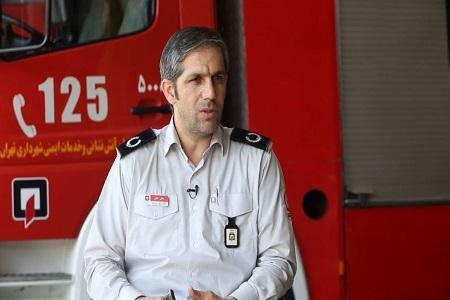 حریق در یک مرکز درمانی در تهران بخیر گذشت