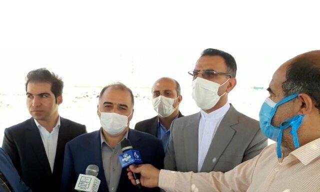 بازدید معاون وزیر میراث فرهنگی از بزرگترین پروژه گردشگری استان سمنان با ظرفیت اشتغالزایی500 نفر