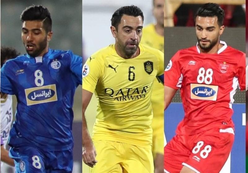 نعمتی بالاتر از اسماعیلی و ژاوی، بهترین هافبک لیگ قهرمانان آسیا در سال 2018 شد