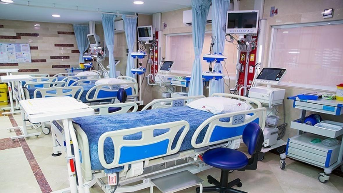 افزایش تخت های بستری ویژه بیماران کرونایی