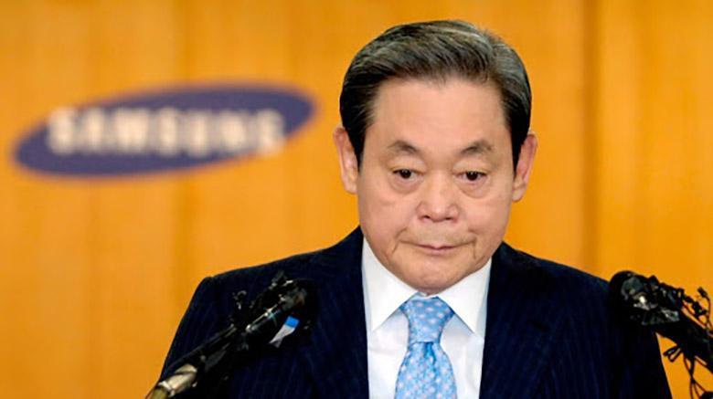 پدر سامسونگ نوین و ثروتمندترین فرد کره جنوبی درگذشت