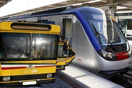 ساعت کار مترو و اتوبوس افزایش یافت