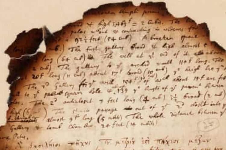 حراج دست&zwnjنوشته&zwnjهای دیده&zwnjنشده نیوتن و تحقیقات روی اهرام مصر