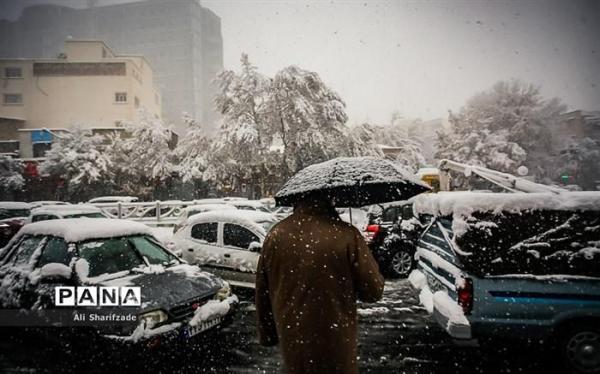 آخر هفته ، تهران برفی می گردد