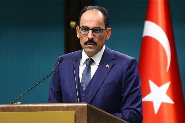 گفتگوی تلفنی سالیوان و ابراهیم کالین درباره روابط آمریکا-ترکیه