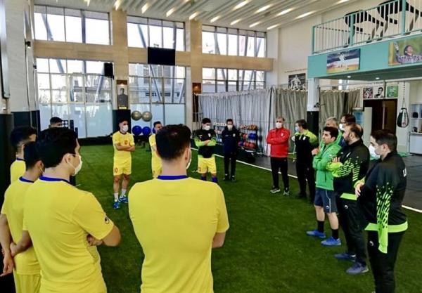 ناظم الشریعه: شرایط اردویی تیم ملی فوتسال از حالت نرمال خارج شد