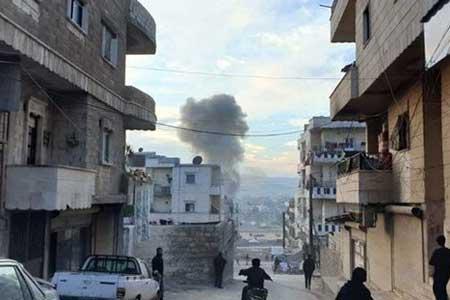 کشته و زخمی شدن 35 تن در انفجار عفرین ، انفجار مهیب در أعزاز