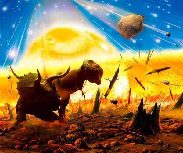 علت انقراض دایناسورها در عصر خزندگان چیست؟