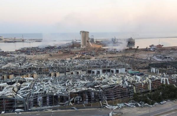 شرکت آلمانی: آنچه در بندر بیروت پیدا کردیم بمب دوم بود