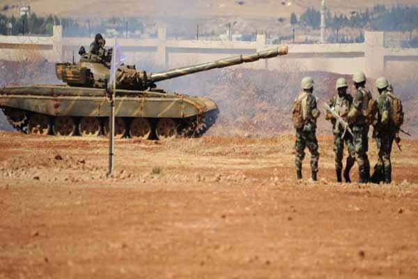 پیشروی ارتش سوریه در صحرای شرقی استان حماه