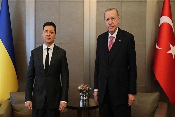 رؤسای جمهور ترکیه و اوکراین ملاقات کردند