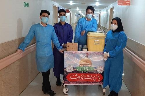 دانشجویان جهادی دانشگاه علوم پزشکی دزفول در بیمارستان این شهر حضور یافتند